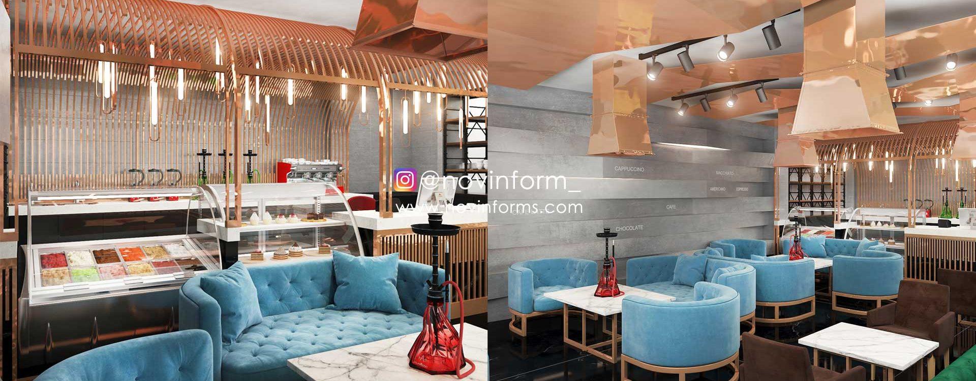 طراحی کافه مس خوزستان