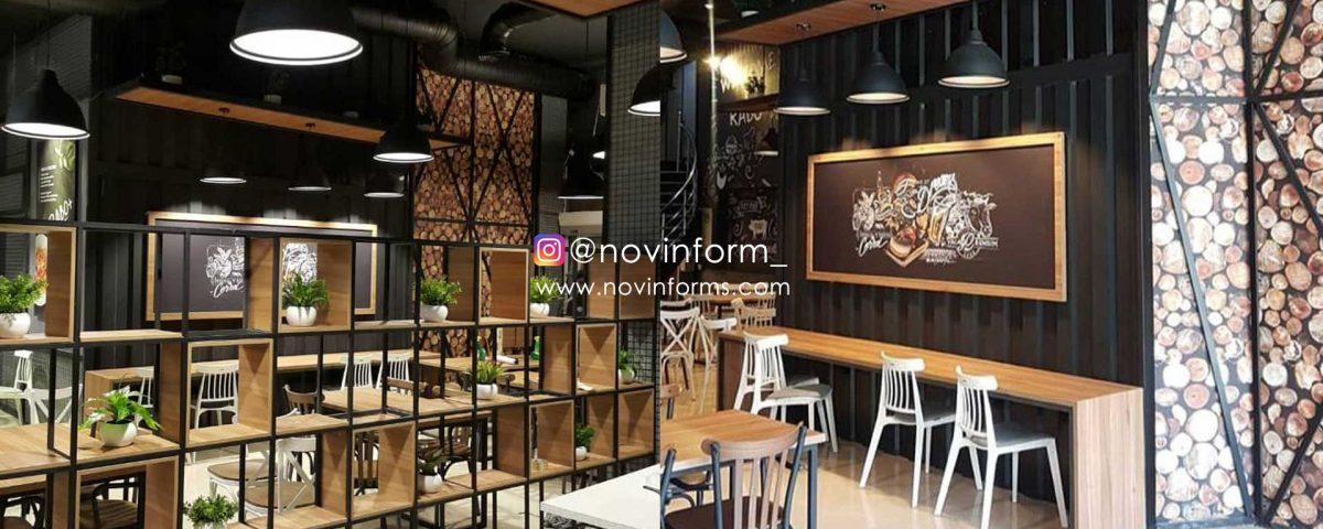 ساخت رستوران مدرن رابو به سبک صنعتی
